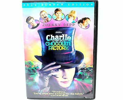 Charlie and the Chocolate Factory DVD - Full Screen Edition