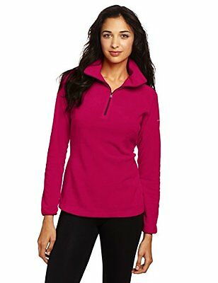 Red Orchid (TG. XS) Columbia Glacial III 1/2 Zip Micro Pile - Porpora (Red Orchi