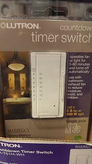 Lutron Maestro Ma-T51H-Wh Countdown Timer Switch New