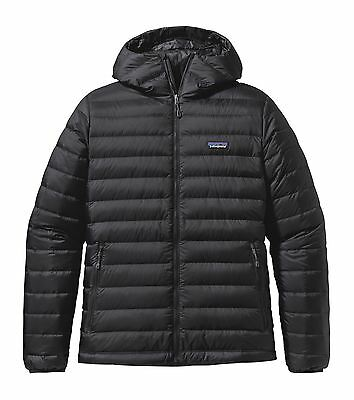 Patagonia Men's Down Insulated Sweater Hoody - Black