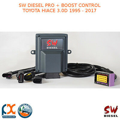 Sw Diesel High Performance Chips Pro+Boost Control Toyota Hiace 3.0D 1995-2017