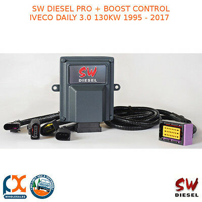Sw Diesel High Performance Chips Pro + Boost Control Iveco Daily 3.0 130Kw 95-17