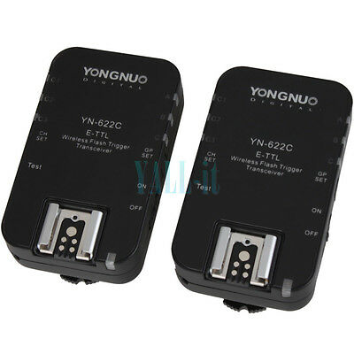 Yongnuo YN-622C Wireless TTL HSS 1/8000S Flash Trigger for Canon Black