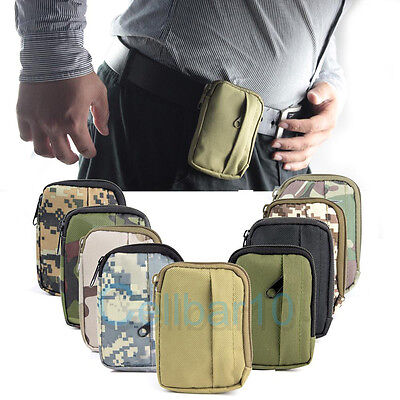 Nylon Utility Military Storage Pouch and  For Running Biking Hold Key Gels