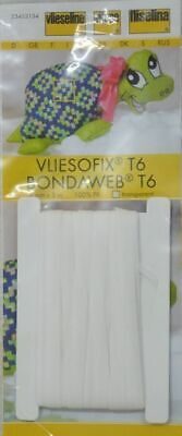 Vilene Vliesofix Fusible BondaWeb T6 6mm x 5m Iron On Adhesive
