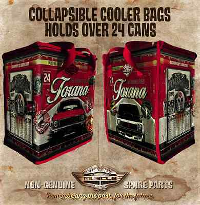 Holden A9X Torana SLR 5000 Cooler Bag - Holds a case of 24 cans Collapsable Foil