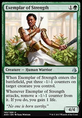 4x ESEMPIO DI FORZA - EXEMPLAR OF STRENGTH Magic AKH Mint