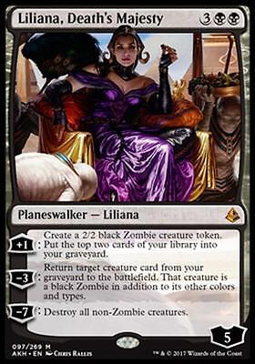 LILIANA, MAESTÀ DELLA MORTE - LILIANA, DEATH'S MAJESTY Magic AKH Mint