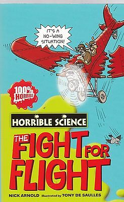 The Fight for Flight, Horrible Science, Book, New Paperback