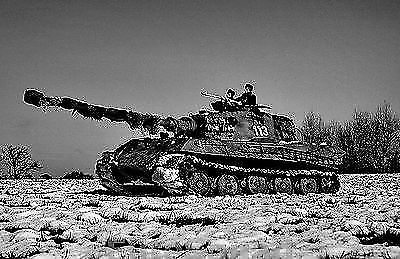 WW2 Photo Picture German Panzer Tiger II Or the King Tiger tank 1944 #350