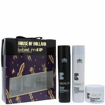 label.m House Of Holland Honey & Oat Pampering Trio