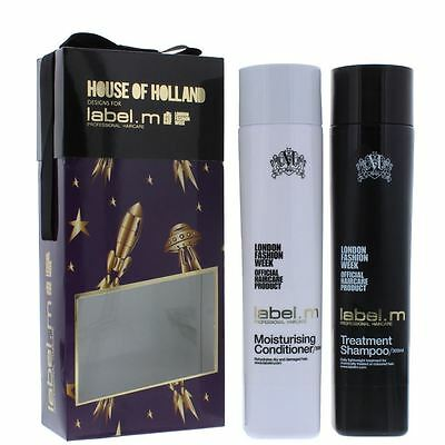 label.m House Of Holland Moisturising Treatment Duo - Shampoo & Conditioner