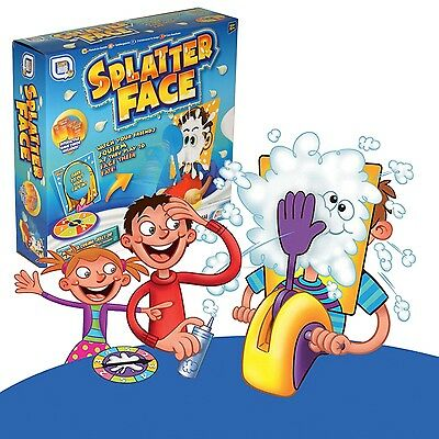 Splatter Splat Pie In The  Face Game Kids Family Fun Party Game Toy R05-0118