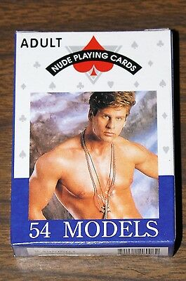 Nude Male Playing Cards - 54 Handsome Hunks In All - Free Shipping