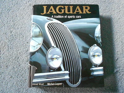 1985 Jaguar A Tradition Of Sports Cars Hc Illustrated History Book Viart Cognet