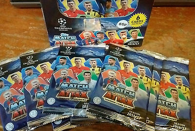 Match Attax Trading Cards Champions League 2016/17 Topps Official Collection