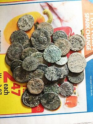 UNCLEANED AND UNSORTED Desert  ROMAN Antoninian PER COIN BUYING !!