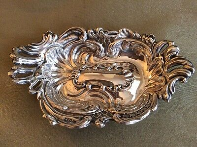 Beautiful Antique Silver Dish, Chester 1901. Stock Clearance. Offers Welcome