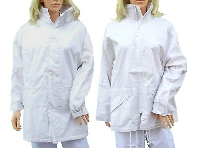 CATHEDRAL Duraproof Ladies Jacket Fleece Or Nylon Lined White Bowls Waterproof