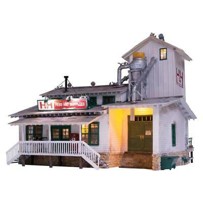 NEW Woodland Scenics H&H Feed Mill O BR5859