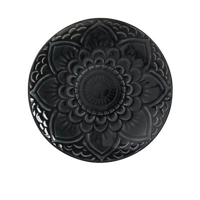 NEW Maxwell & Williams Talisman Plate 26.5cm Charcoal