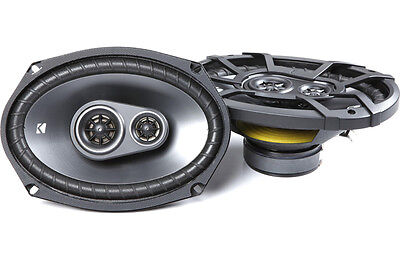 """Buyer's Pick! Kicker 43CSC6934 6"""" x 9"""" Triaxial Car Speakers (Pair). Limited QTY"""