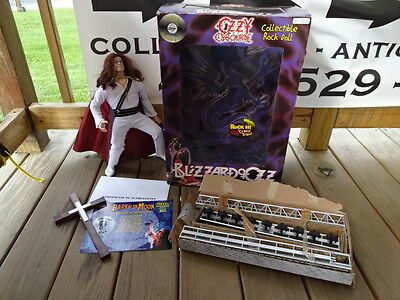 Blizzard Of Ozz Ozzy Osbourne Action Figure Rock Doll With Box & Authentication