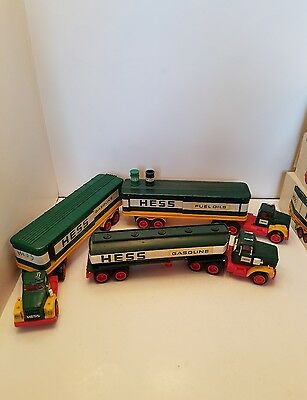 Vintage Hess Truck Tanker Lot of 3