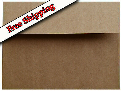 Kraft Grocery Bag Brown 70lb Envelopes for Invitations Announcements A2 A6 A7