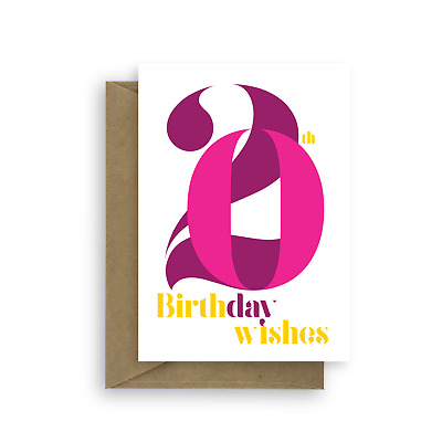 20th Birthday Wishes Card For Girl 20 Happy Her Daughter Pink
