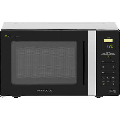 Daewoo KOR6A0R 800 Watt Microwave Free Standing Black New from AO