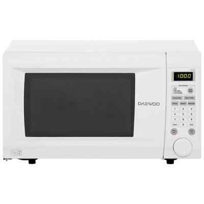 Daewoo KOR1N0A 1000 Watt Microwave Free Standing White New from AO