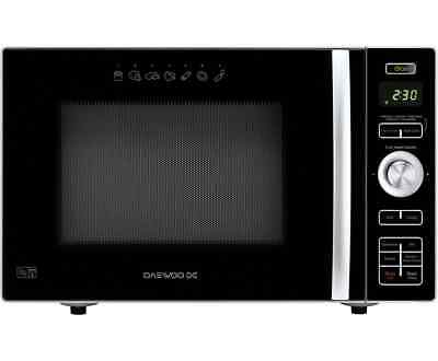 Daewoo KOC8HAFR with Fat Free Fryer 900 Watt Microwave Free Standing Black New