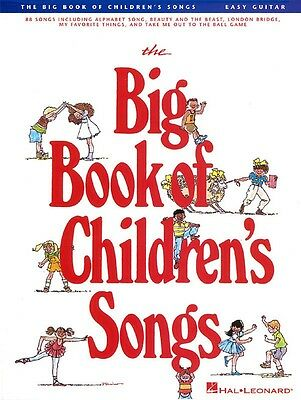 Brand New BIG BOOK OF CHILDRENS SONGS EASY GUITAR Sheet Music