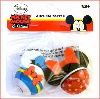 Disney Donald Duck and Minnie Mouse Antenna Topper Set