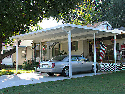 13' x 24' Wall Attached  Aluminum  (.025), Patio Cover Kit