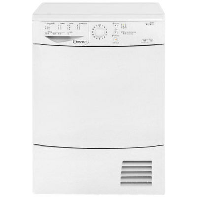 Indesit IDCL85BH 8Kg Condenser Tumble Dryer White New from AO