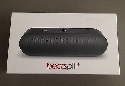 New Beats By Dr Dre Pill+ Portable Bluetooth Wireless Speaker (black)