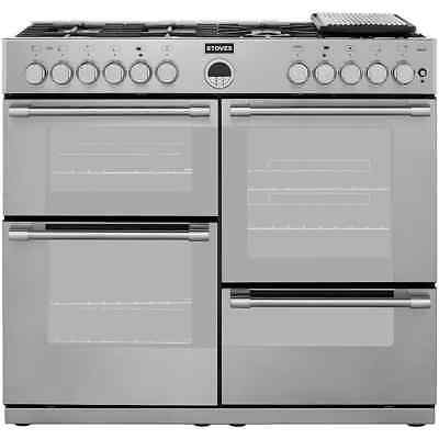 Stoves STERLINGR1000DFT Sterling 100cm 7 Burners Dual Fuel Range Cooker