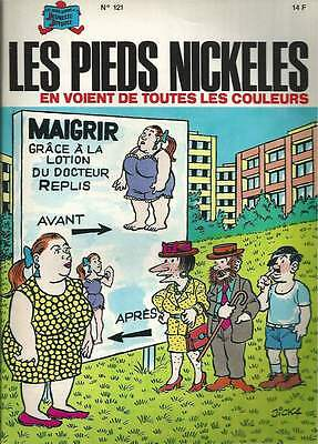Les Pieds Nickeles N°121 . Eo . 1988 . Rare .