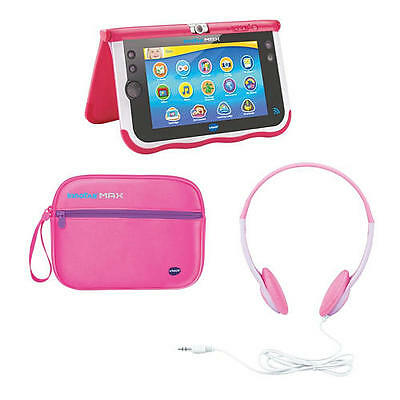 VTech InnoTab Max Headphones and Carrying Case Bundle - Pink 3417761668702