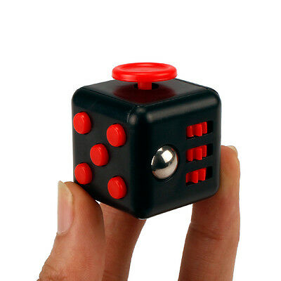 2017 Newest Fidget Cube Xmas Children Toy Adults Fun Stress Relief Cubes Toys UK