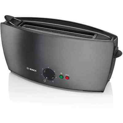 Bosch TAT6805GB City Collection Long Slot 2 Slice Toaster Anthracite New from