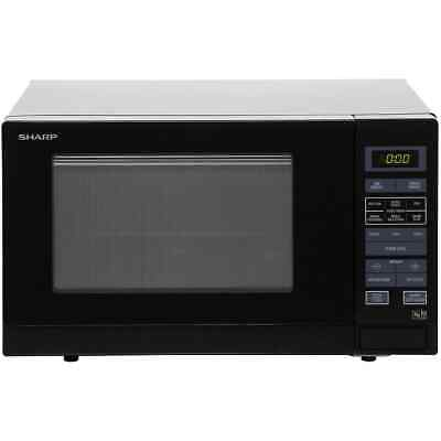 Sharp Microwave R372KM 900 Watt Microwave Free Standing Black New from AO