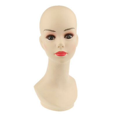 1pcs Female Mannequin Head Bust Display Wig/Hair/Hat/Glasses/Jewelry/Scarf