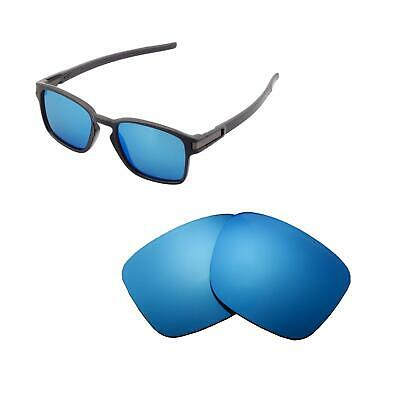 b6a665c87f9 Walleva Polarized Ice Blue Replacement Lenses For Oakley Latch SQ Sunglasses