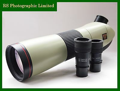 Nikon Fieldscope ED78 Spotting scope with Case and Eyepieces. Stock No. C1119