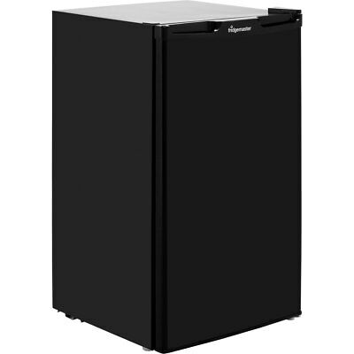 Fridgemaster MUZ4965B Free Standing 65 Litres A+ Under Counter Freezer Black