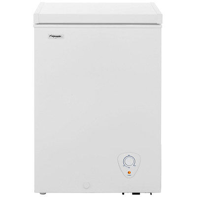 Fridgemaster MCF98 Free Standing 98 Litres A+ Chest Freezer White - from AO