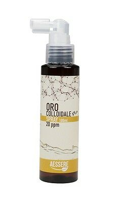 Oro Colloidale Plus Spray da 20ppm 100ml